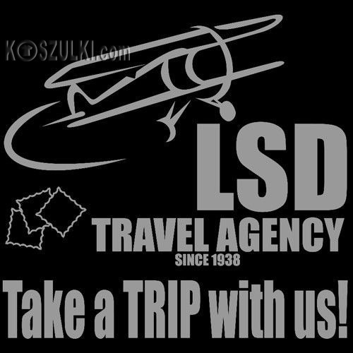 t-shirt Travel Agency LSD