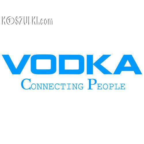 t-shirt Vodka Biała