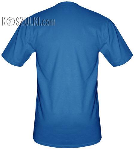 t-shirt Vodka Niebieska